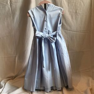 Pervenche Dresses - Hand-embroidered robin's egg blue dress